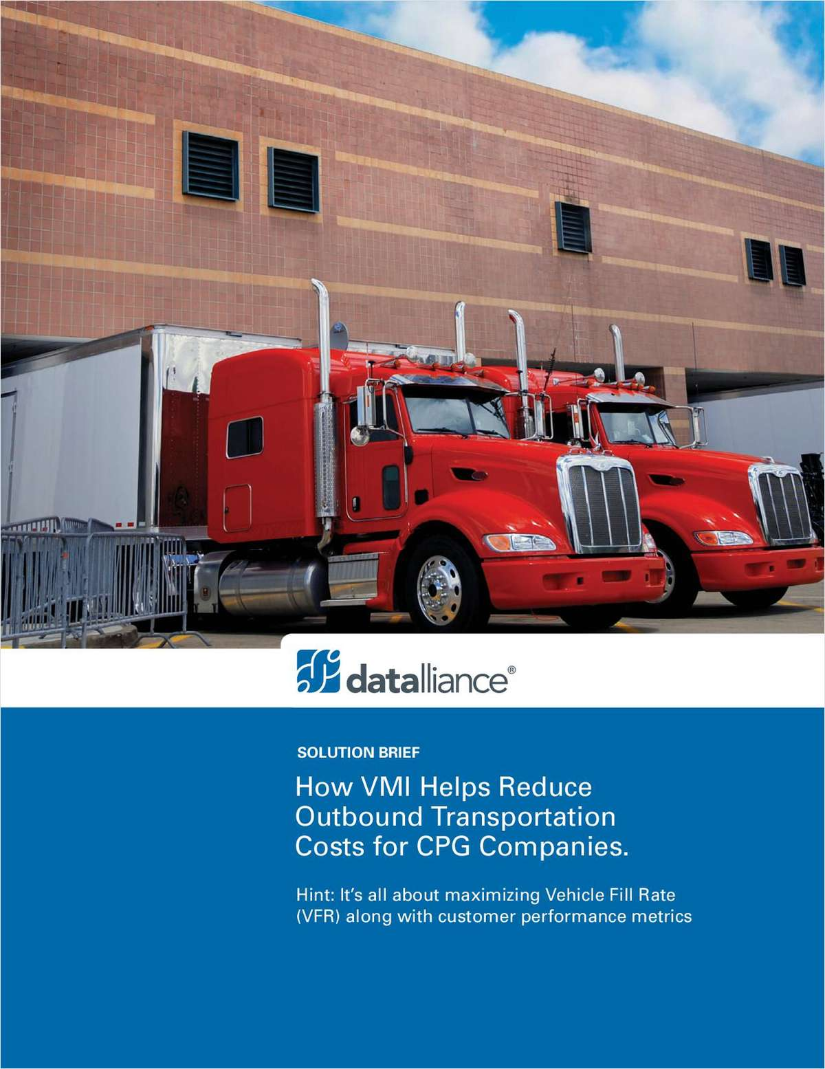 How VMI Helps Reduce Outbound Transportation Costs for CPG Companies