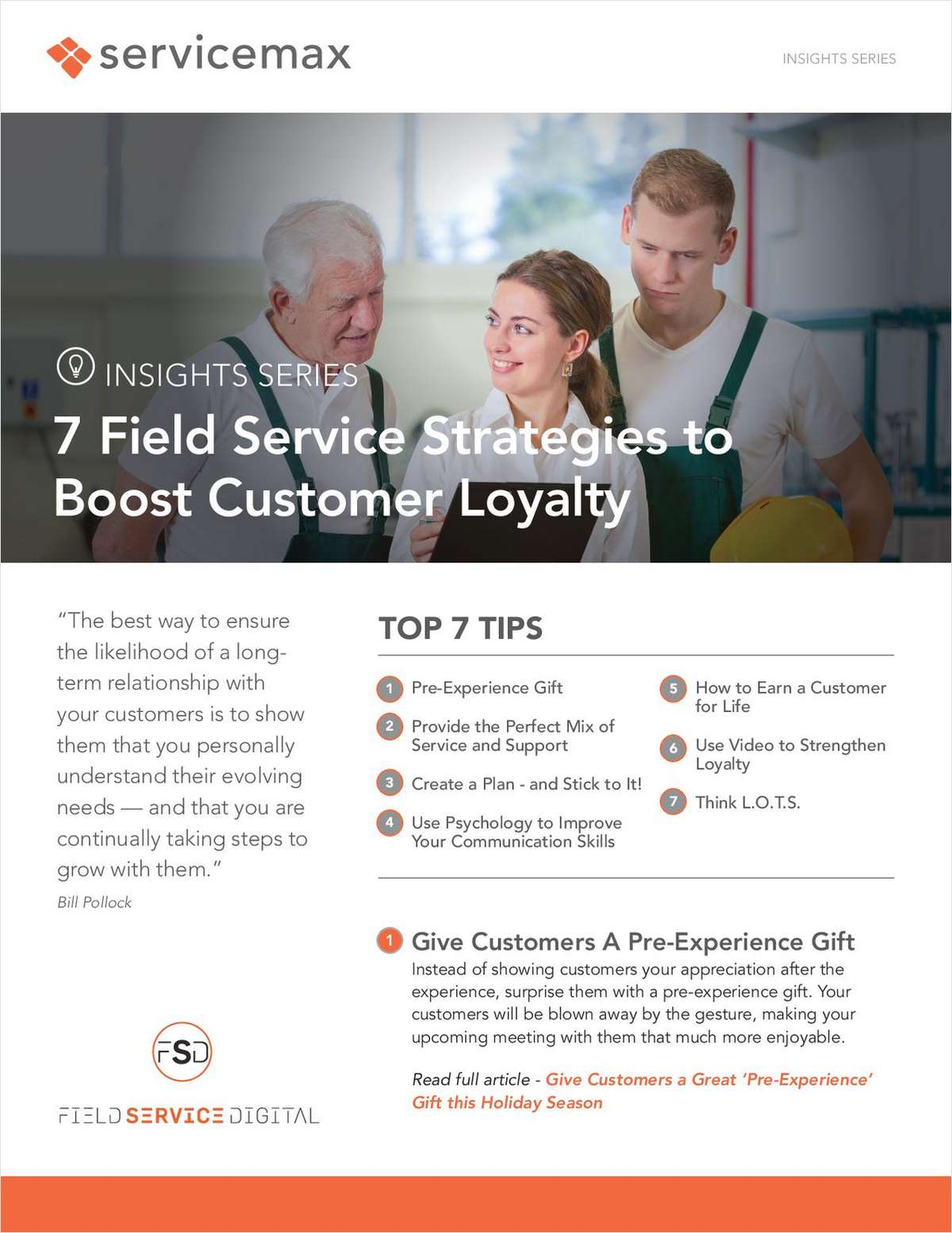 7 Field Service Strategies to Boost Customer Loyalty