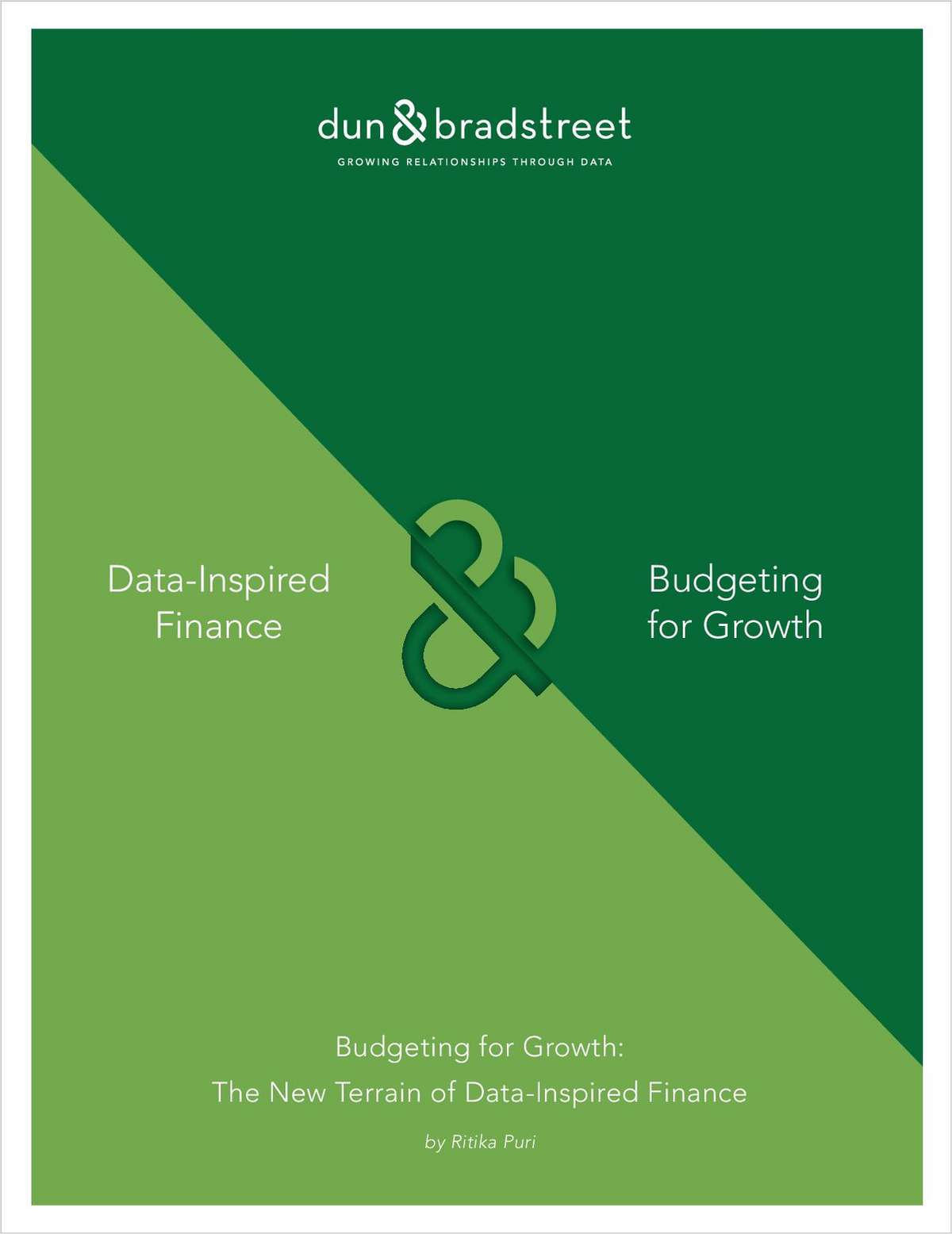 Budgeting for Growth: The New Terrain of Data-Inspired Finance