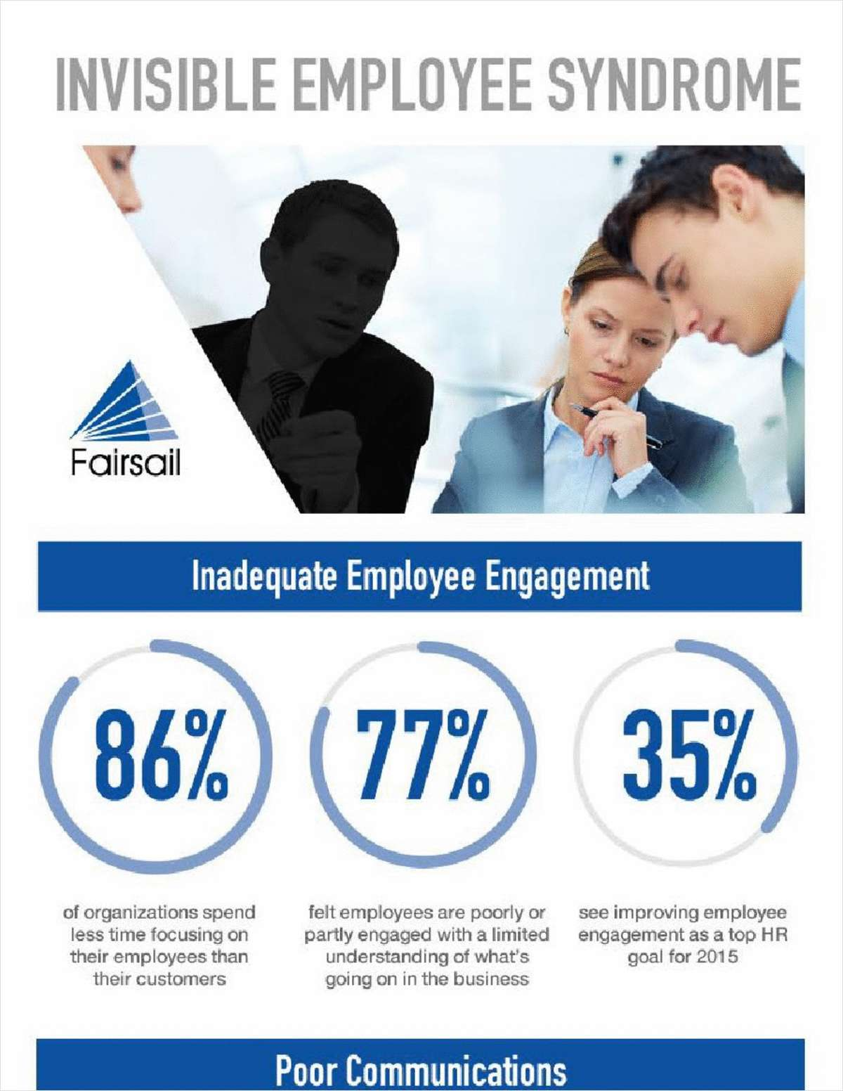 Invisible Employee Syndrome Infographic