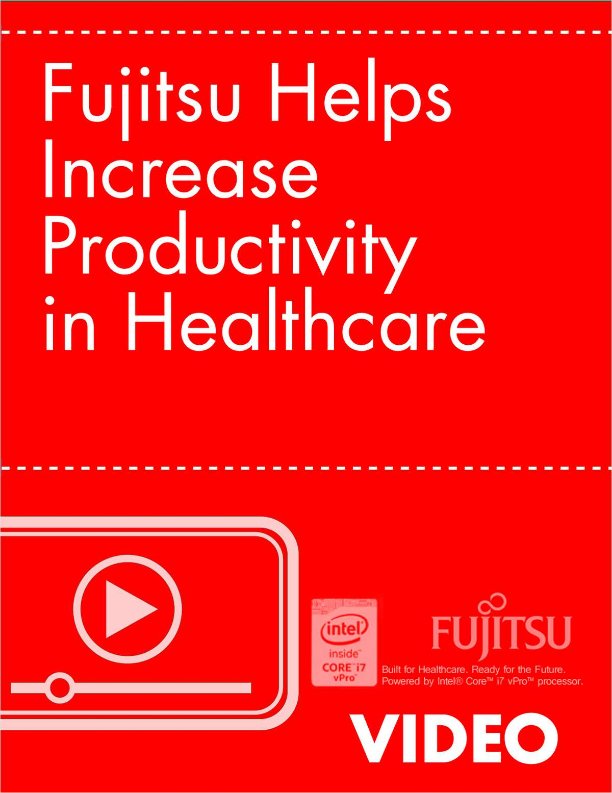 Fujitsu Helps Increase Productivity in Healthcare