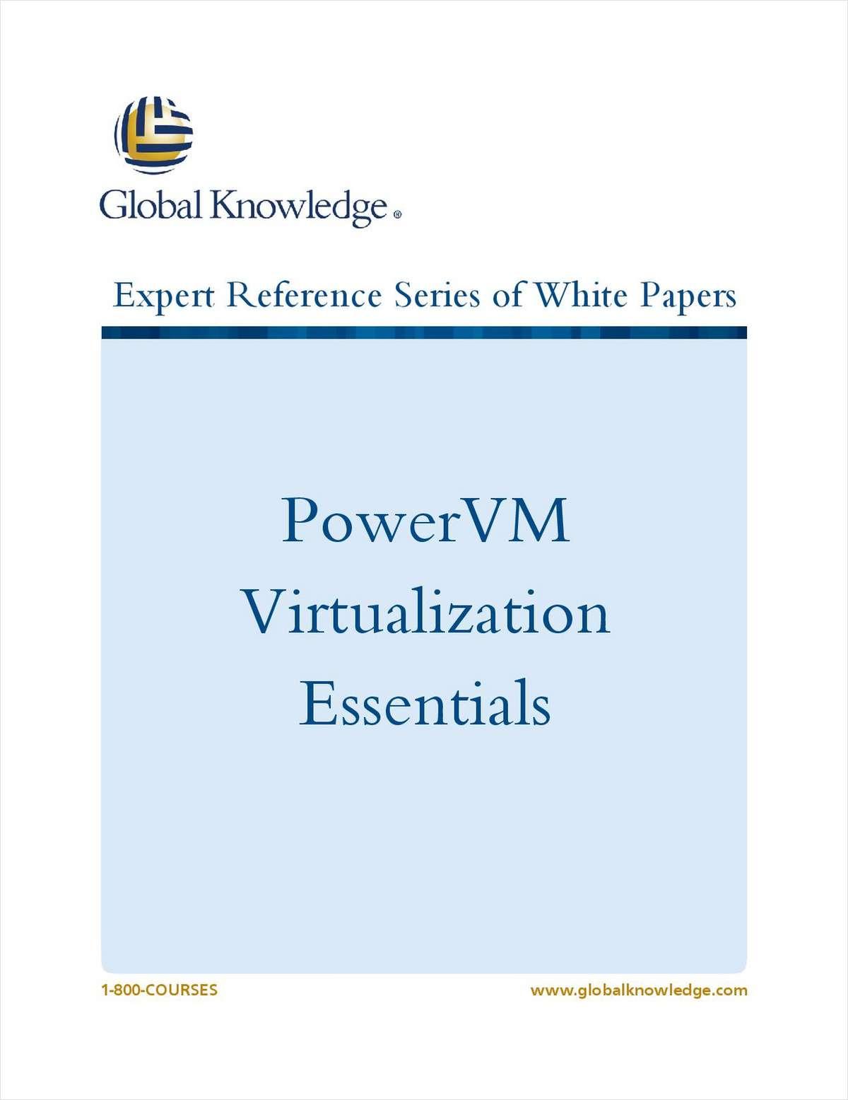 PowerVM Virtualization Essentials