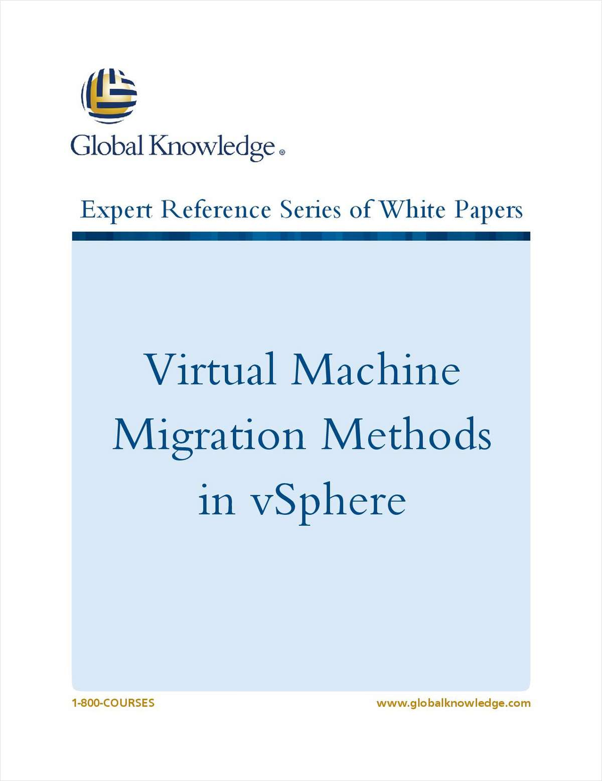 Virtual Machine Migration Methods in vSphere