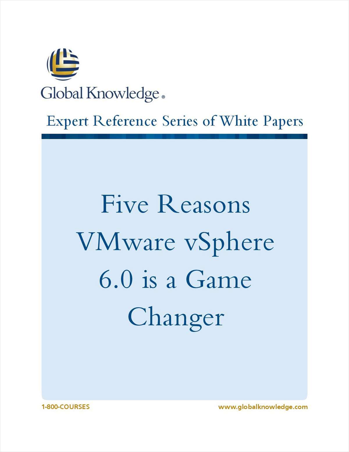 VMware vSphere 6.0 is a Game Changer