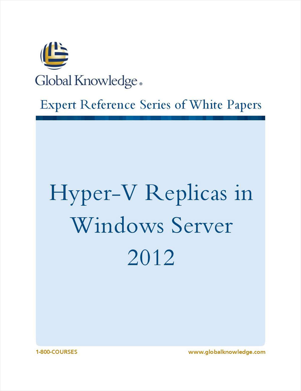 Hyper-V Replicas in Windows Server 2012