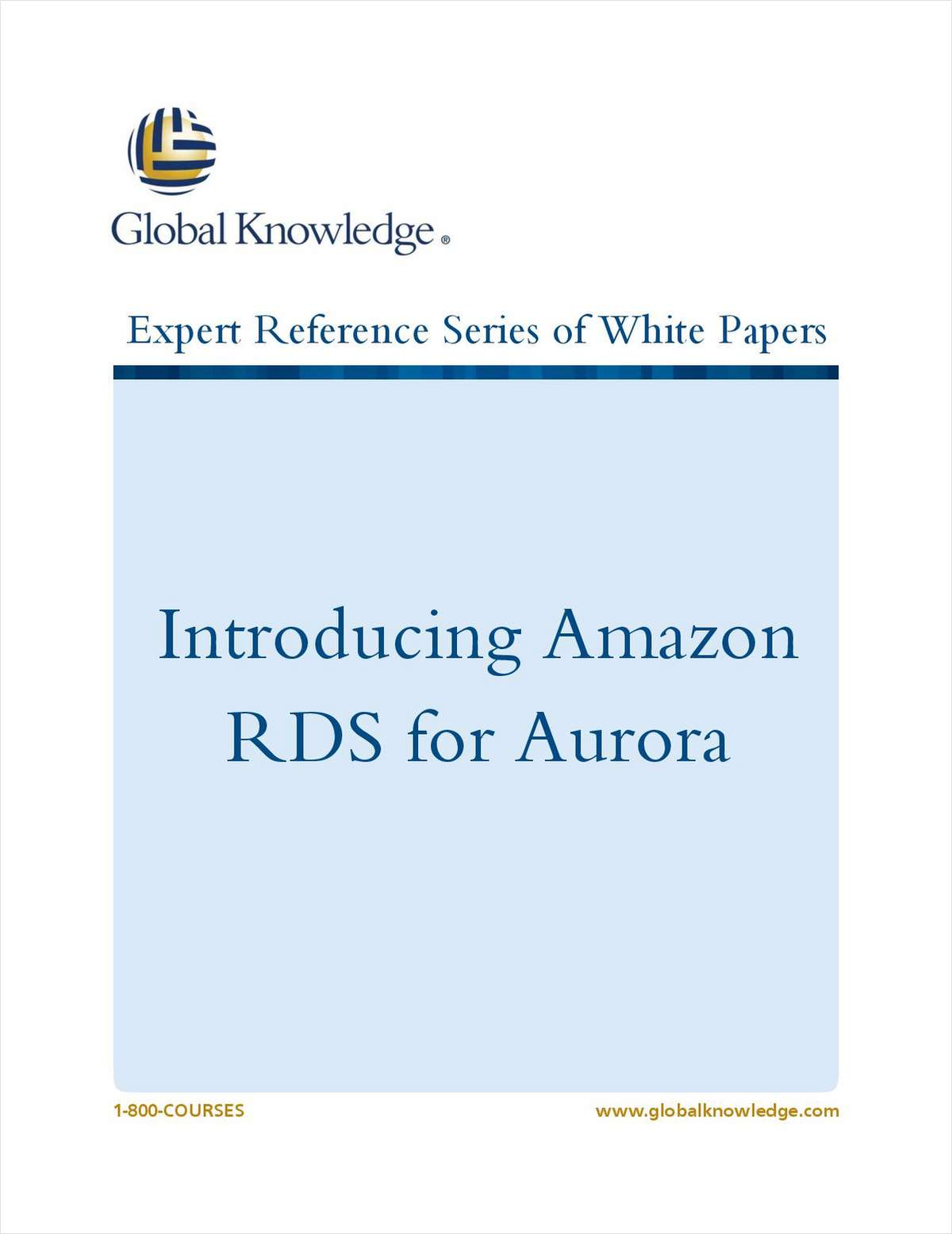 Introducing Amazon RDS for Aurora