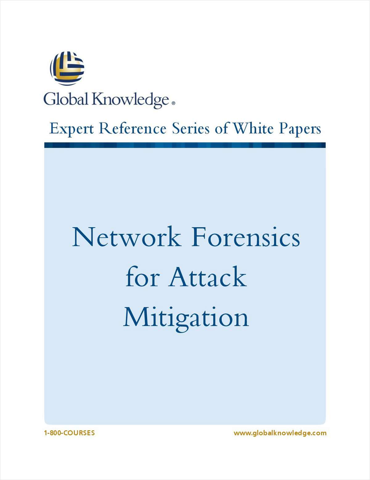 Network Forensics for Attack Mitigation