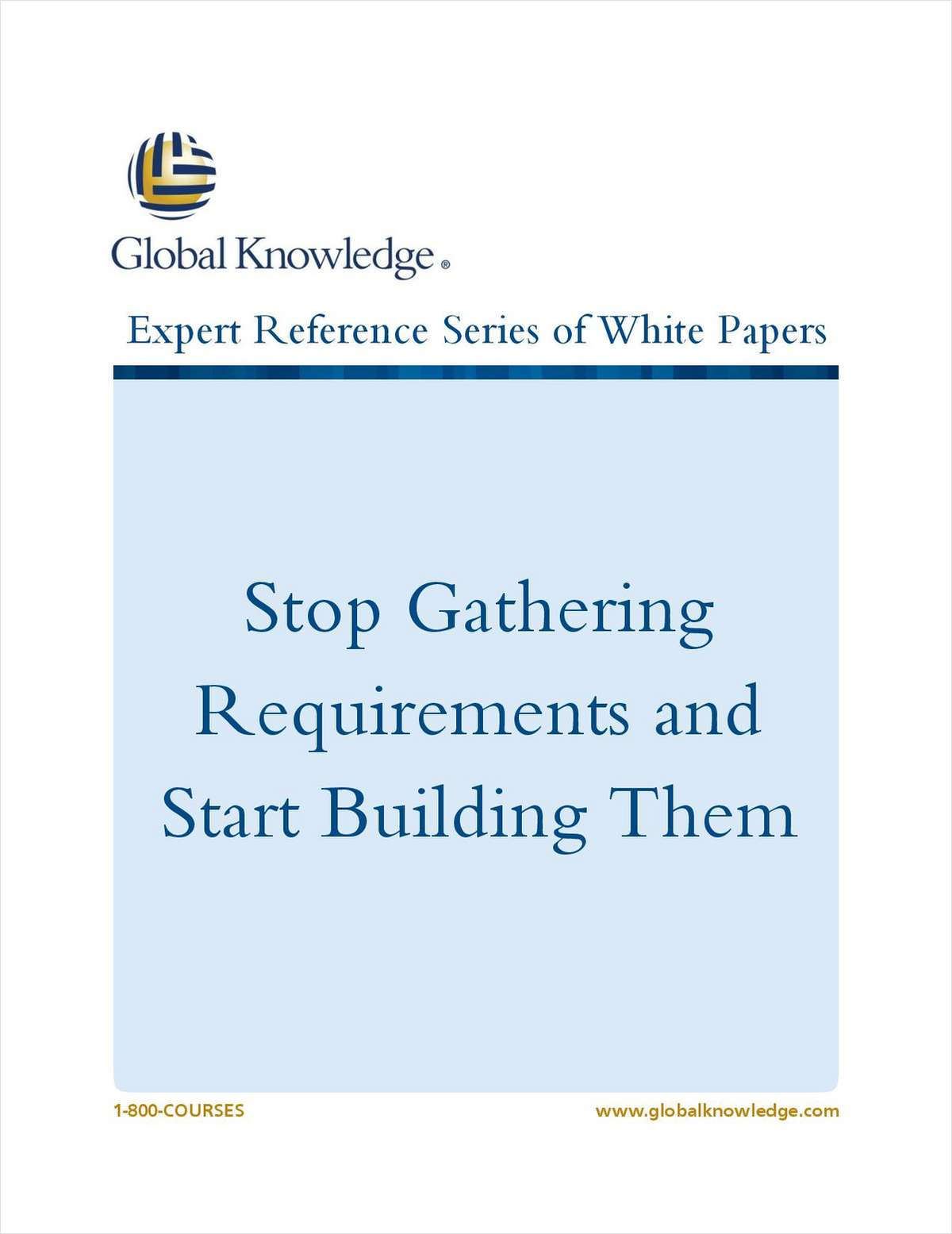 Stop Gathering Requirements and Start Building Them