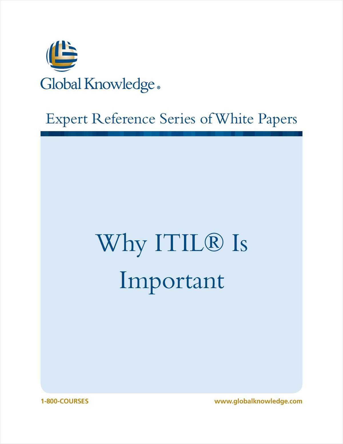 Why ITIL® Is Important