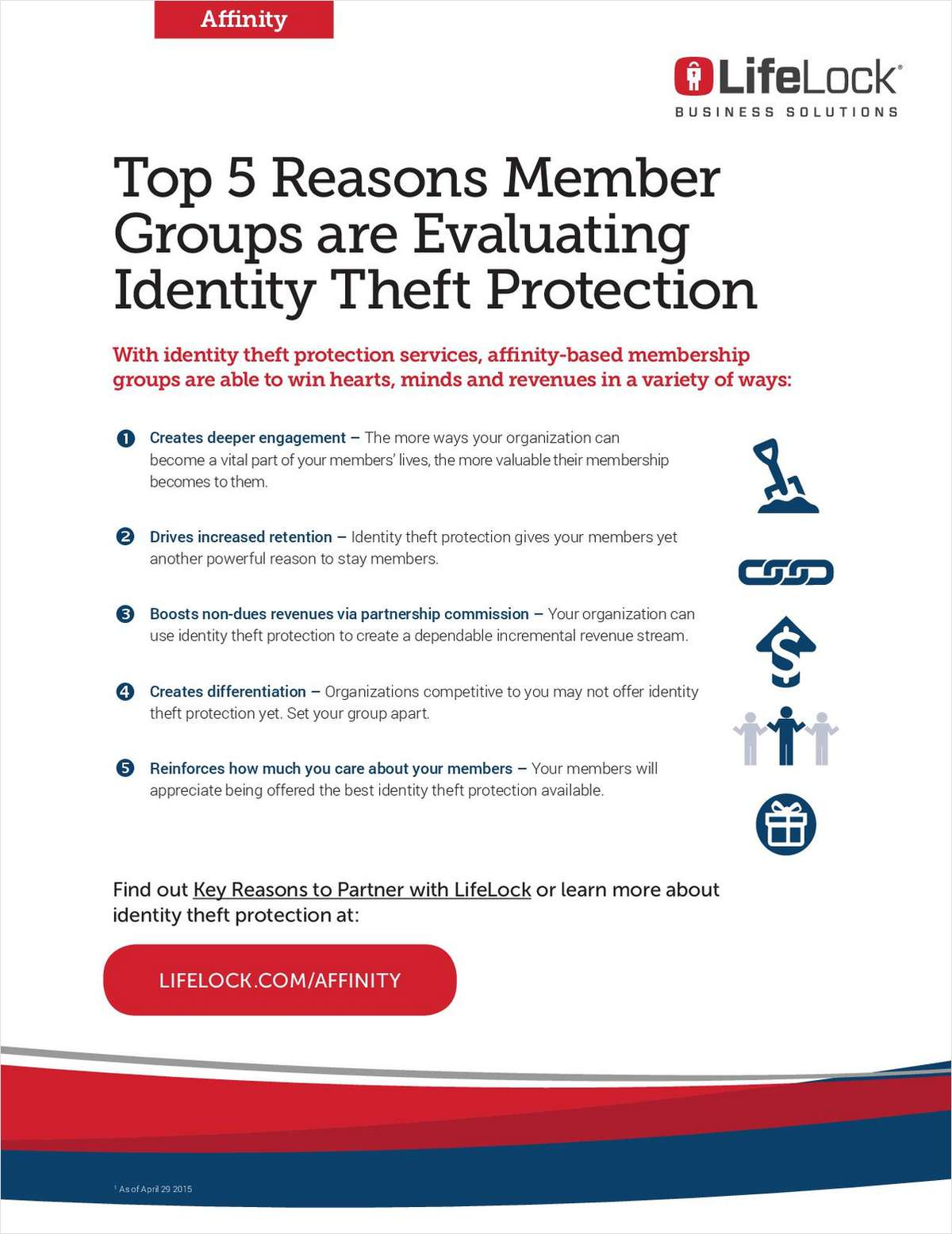 Top 5 Reasons Member Groups Are Developing Affinity For LifeLock