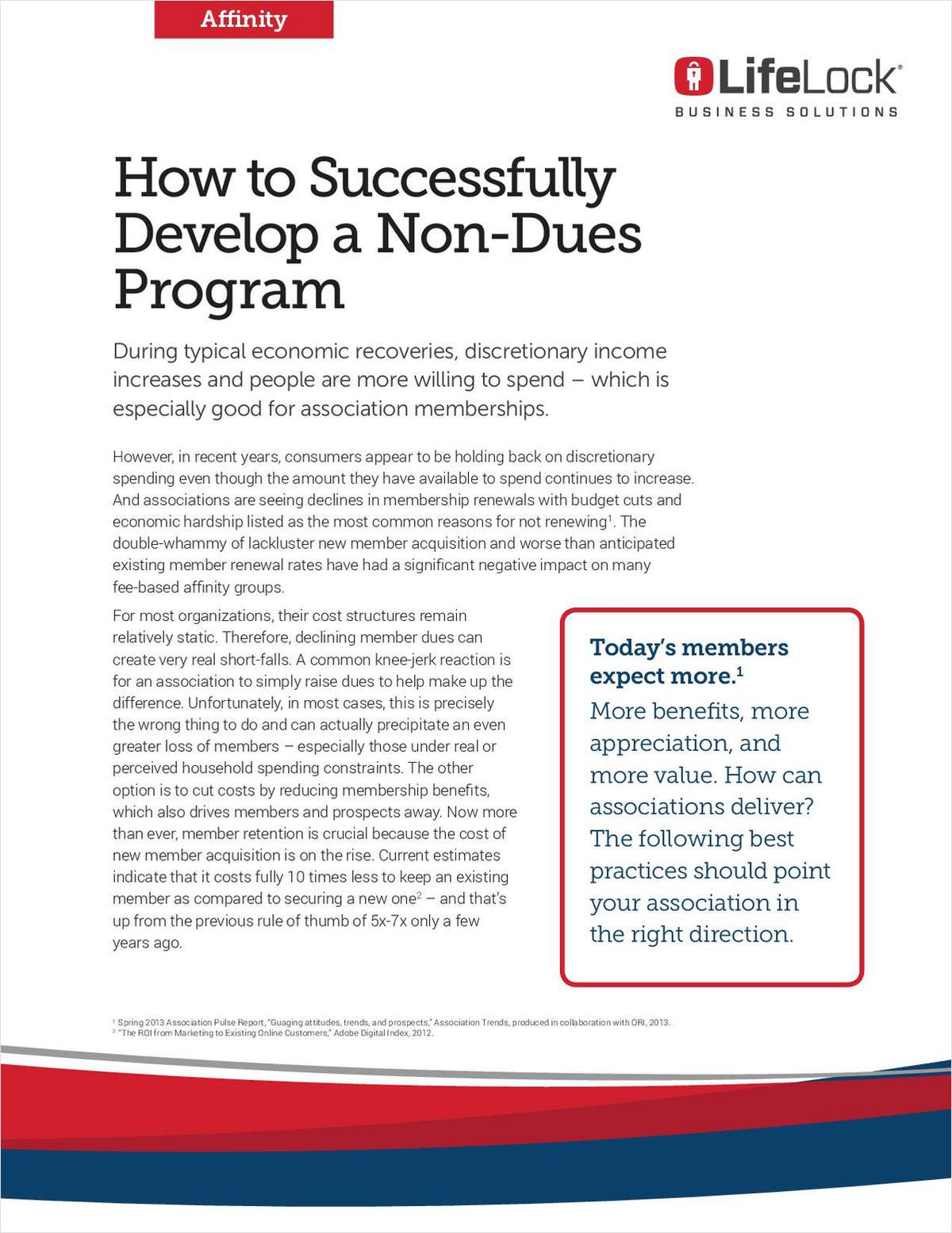 How to Successfully Develop a Non-Dues Program