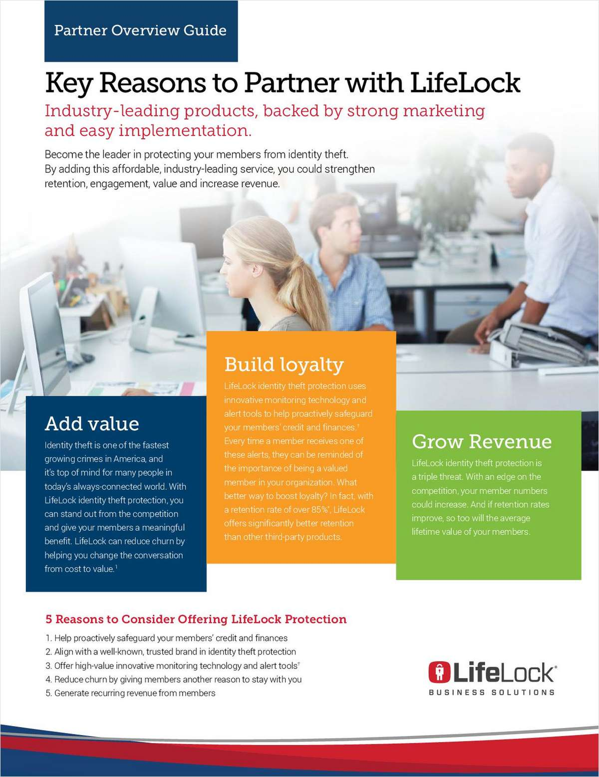Key Reasons to Partner with LifeLock