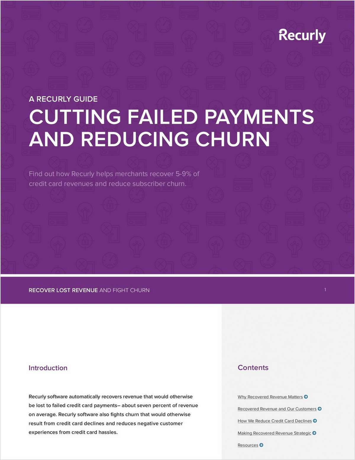 A Recurly Guide to Cutting Failed Payments and Reducing Churn