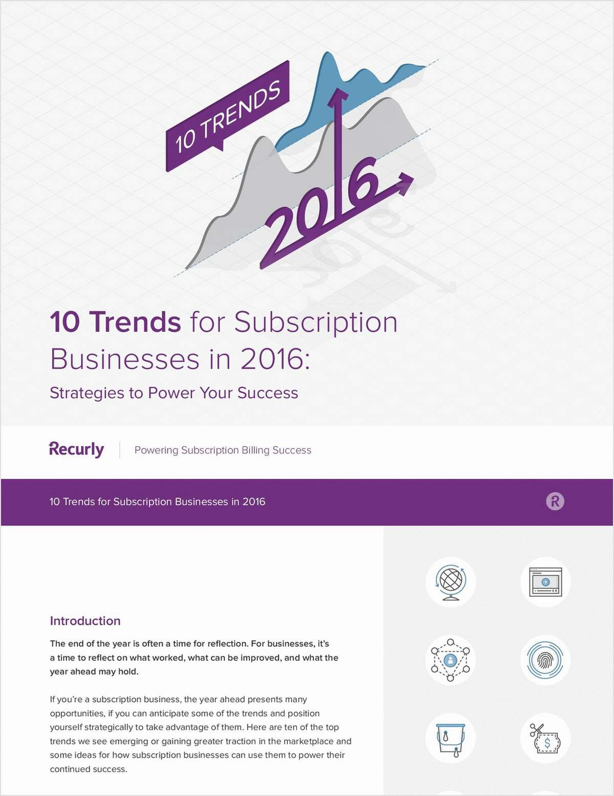Subscription Businesses - Top 10 Trends for 2016!
