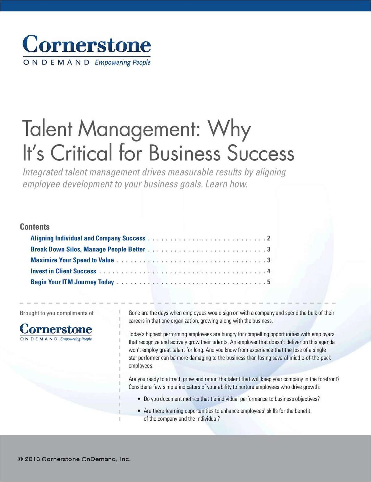 Talent Management: Why It's Critical for Business Success