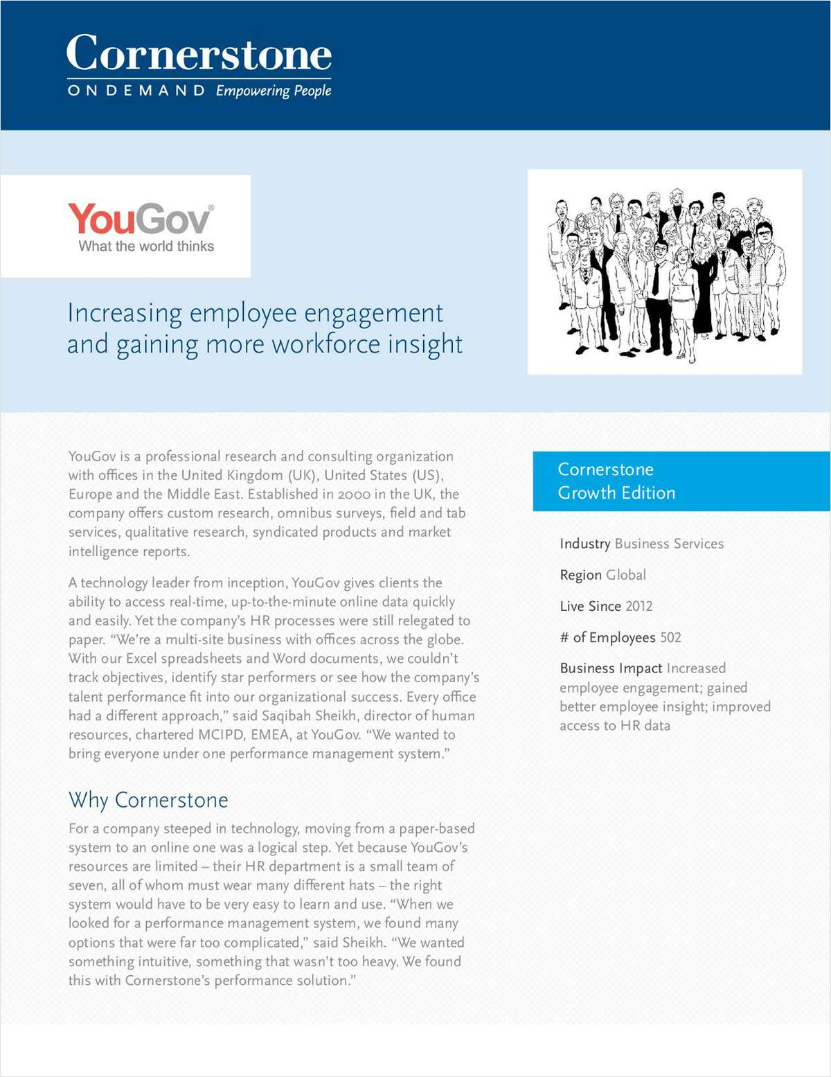 YouGov Case Study: Increasing Employee Engagement and Gaining More Workforce Insight