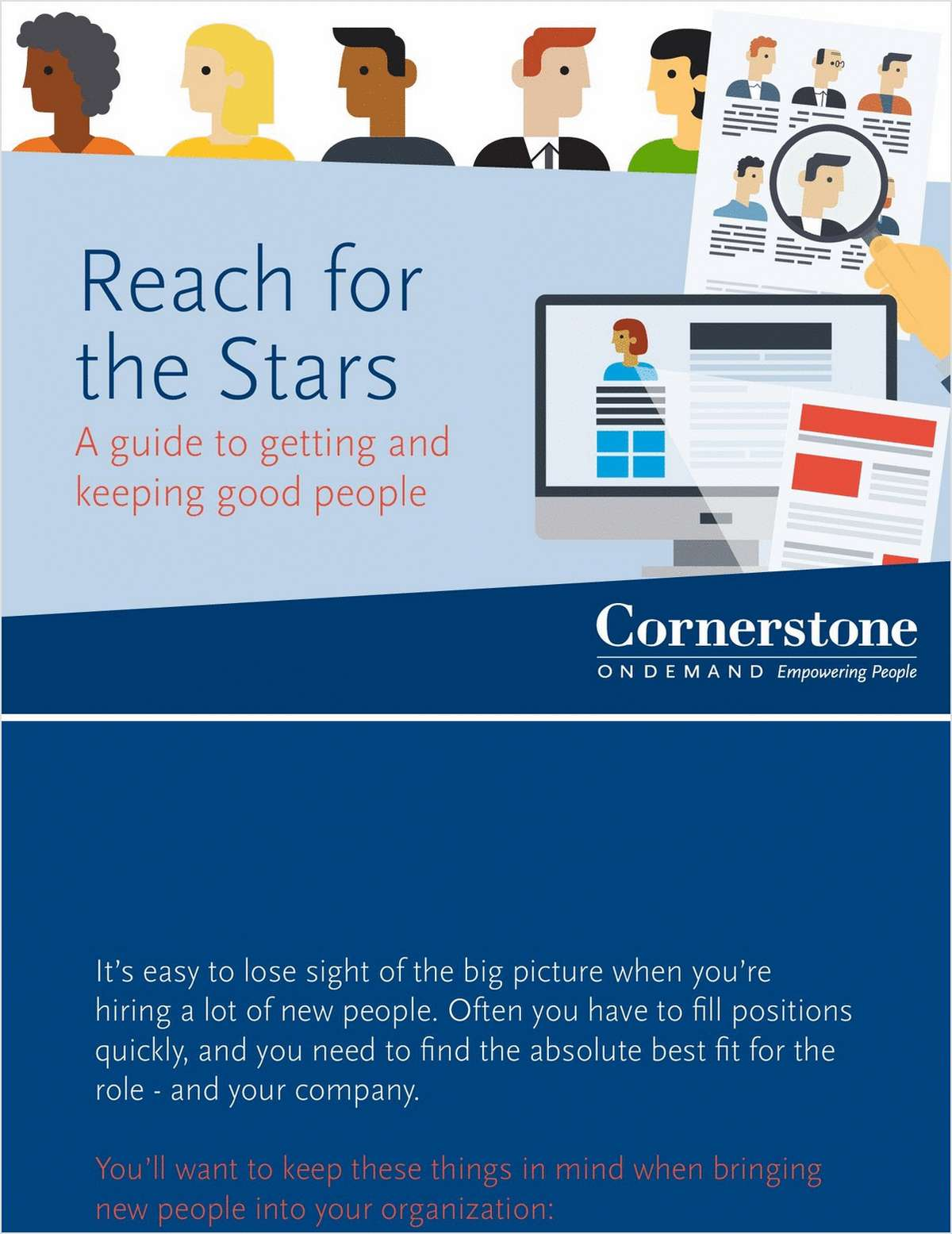 Reach for the Stars - A Guide to Getting and Keeping Good People