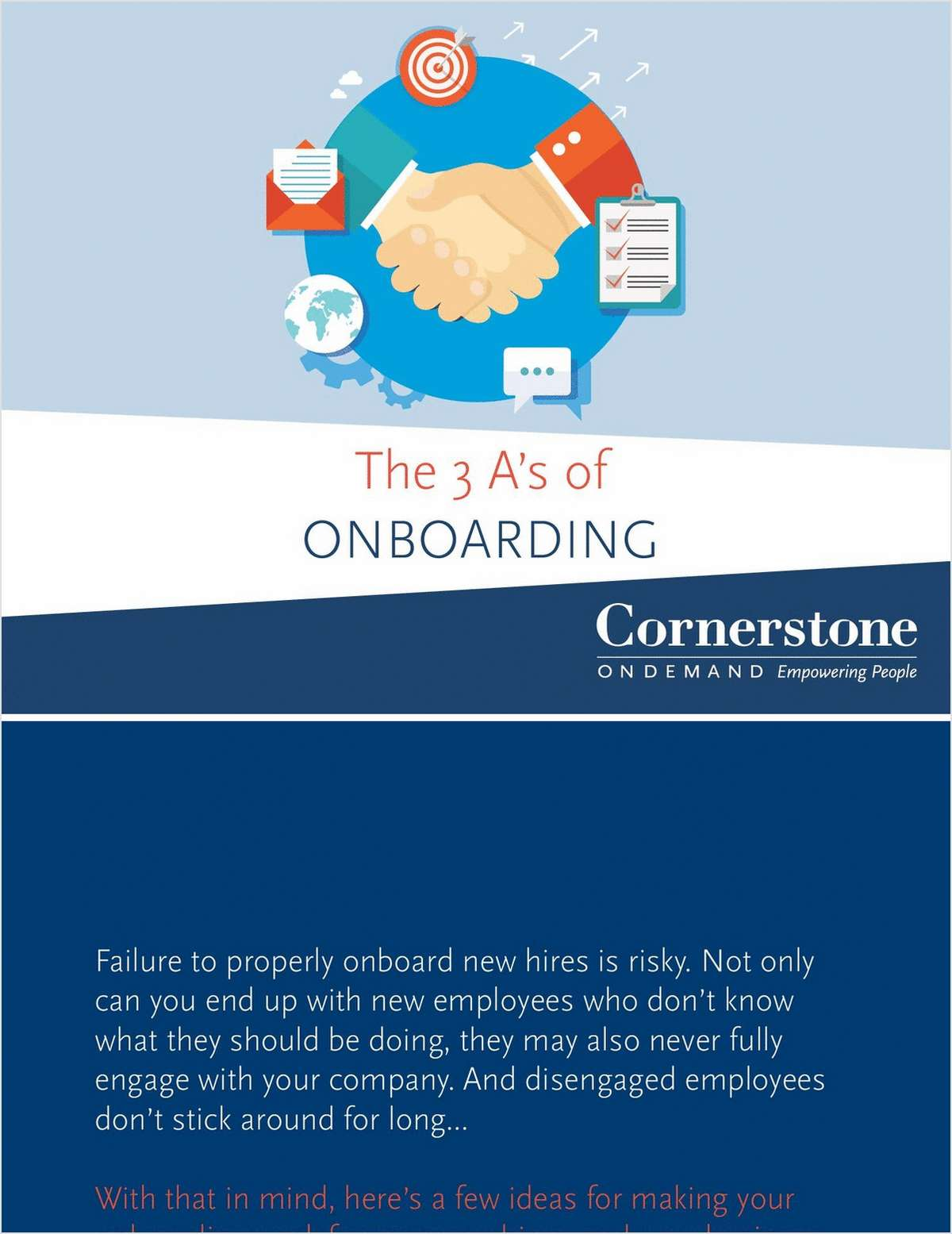 The 3 A's of Onboarding