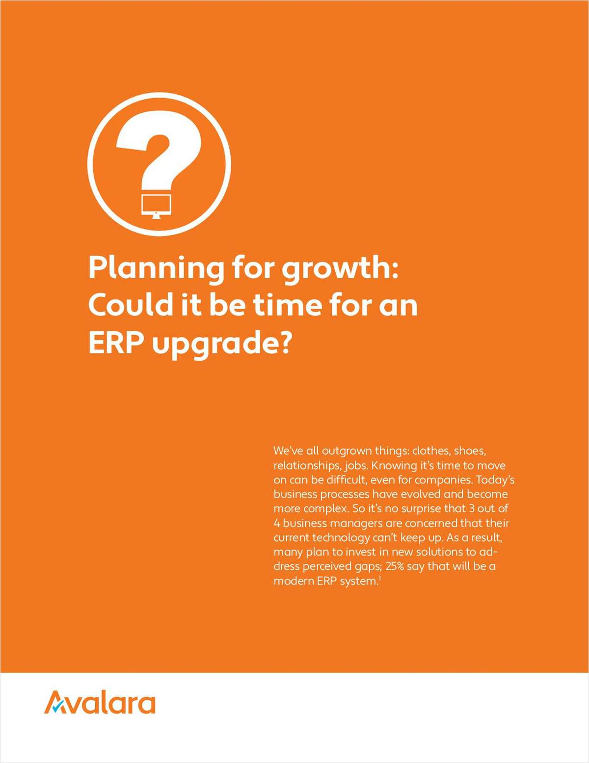 Planning for an ERP Upgrade? 5 Guidelines to Plan for Growth