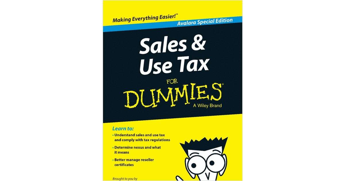 sales and use tax compliance for dummies free ebook