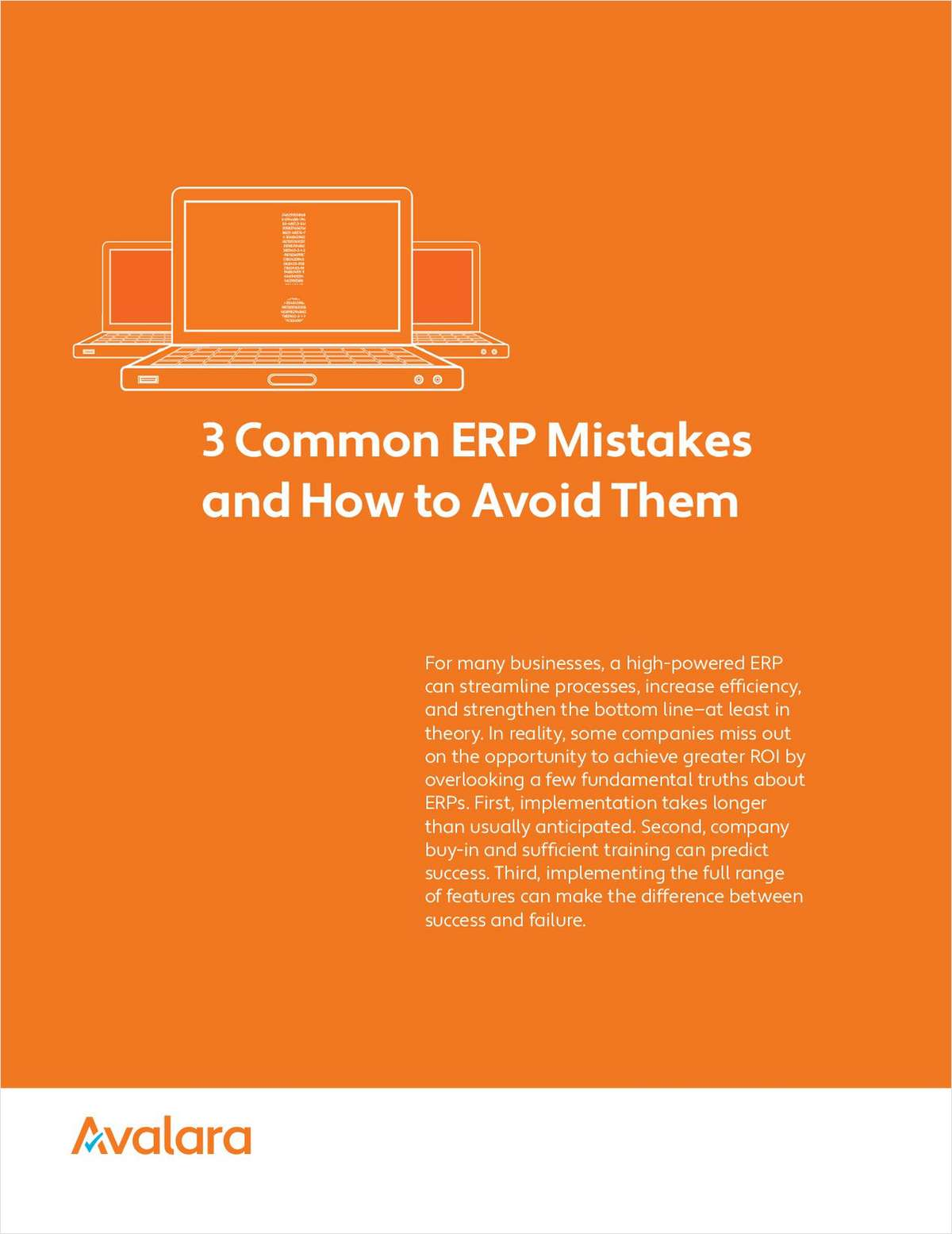 3 Common ERP Mistakes and How to Avoid Them