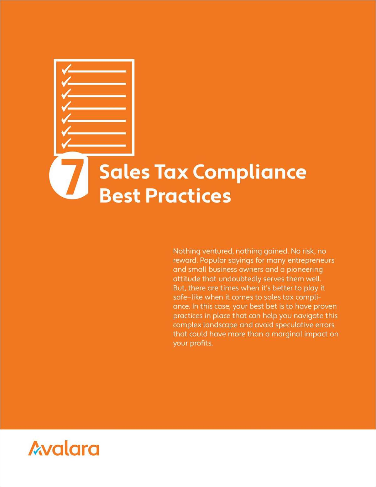 7 Sales Tax Compliance Best Practices