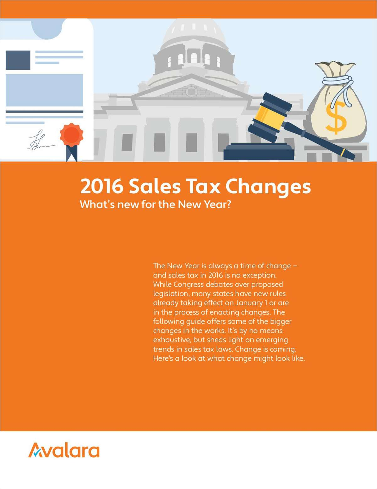 2016 Sales Tax Changes: What's New for the New Year?