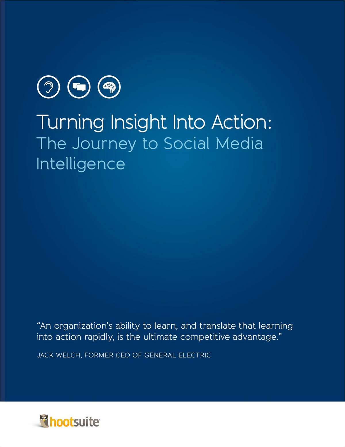 Turning Insight Into Action: The Journey to Social Media Intelligence