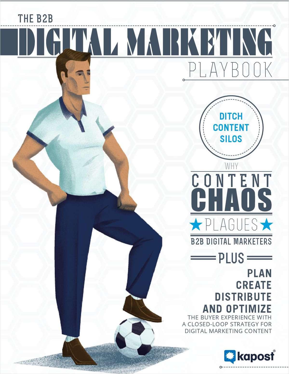 The B2B Digital Marketing Playbook