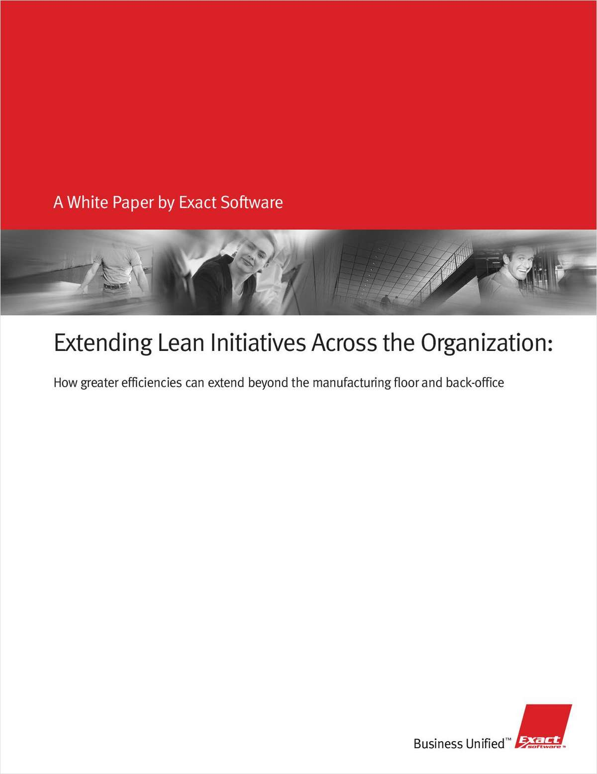 Extending Lean Initiatives Across the Organization