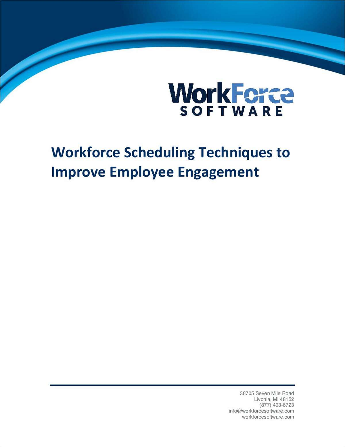 These Workforce Scheduling Techniques Will Improve Employee Engagement