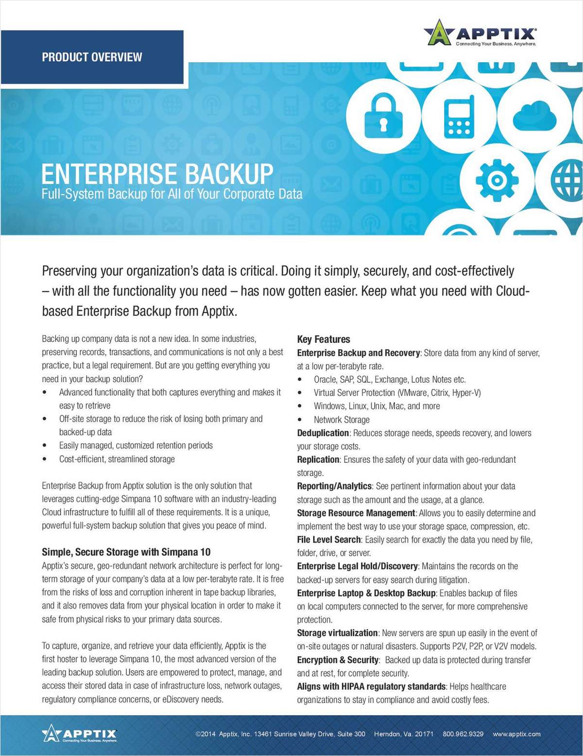 Cloud-Based Enterprise Backup