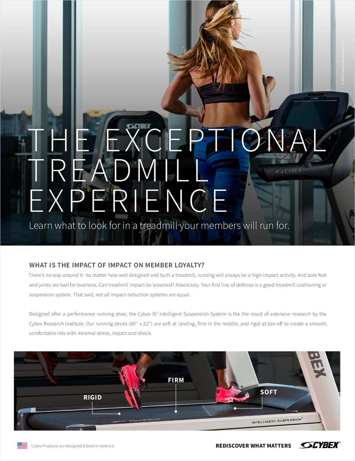 The Exceptional Treadmill Experience that Will Make Members Come Running