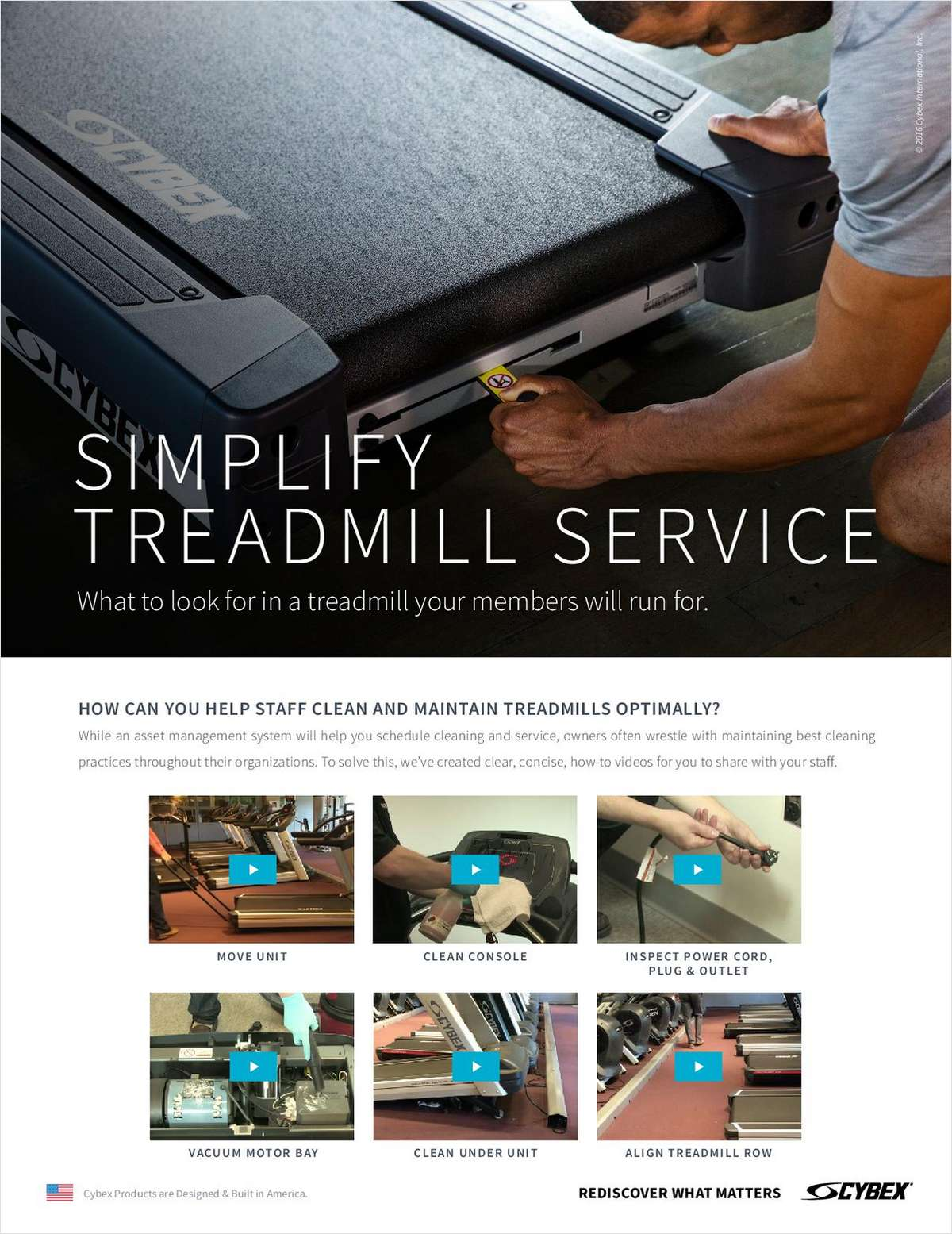 Simplify Your Treadmill Service in 6 Easy Steps