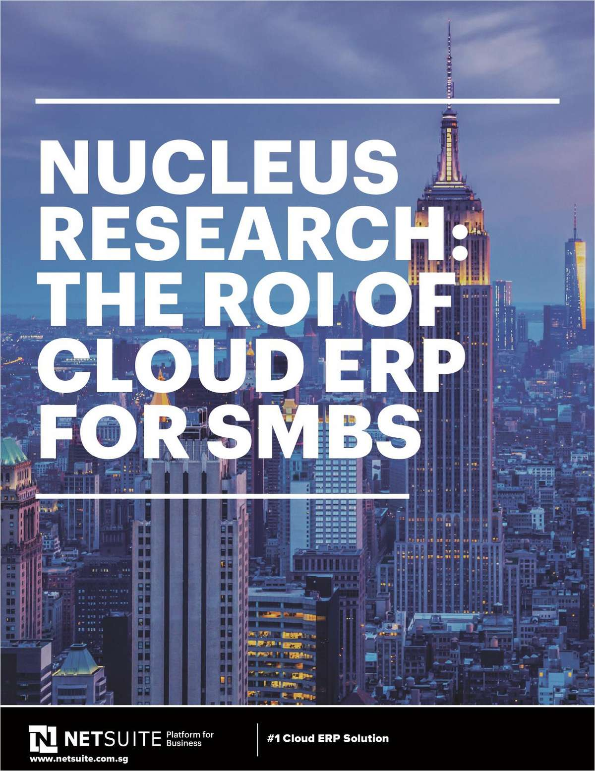 Nucleus Research: The ROI of Cloud ERP for SMBs