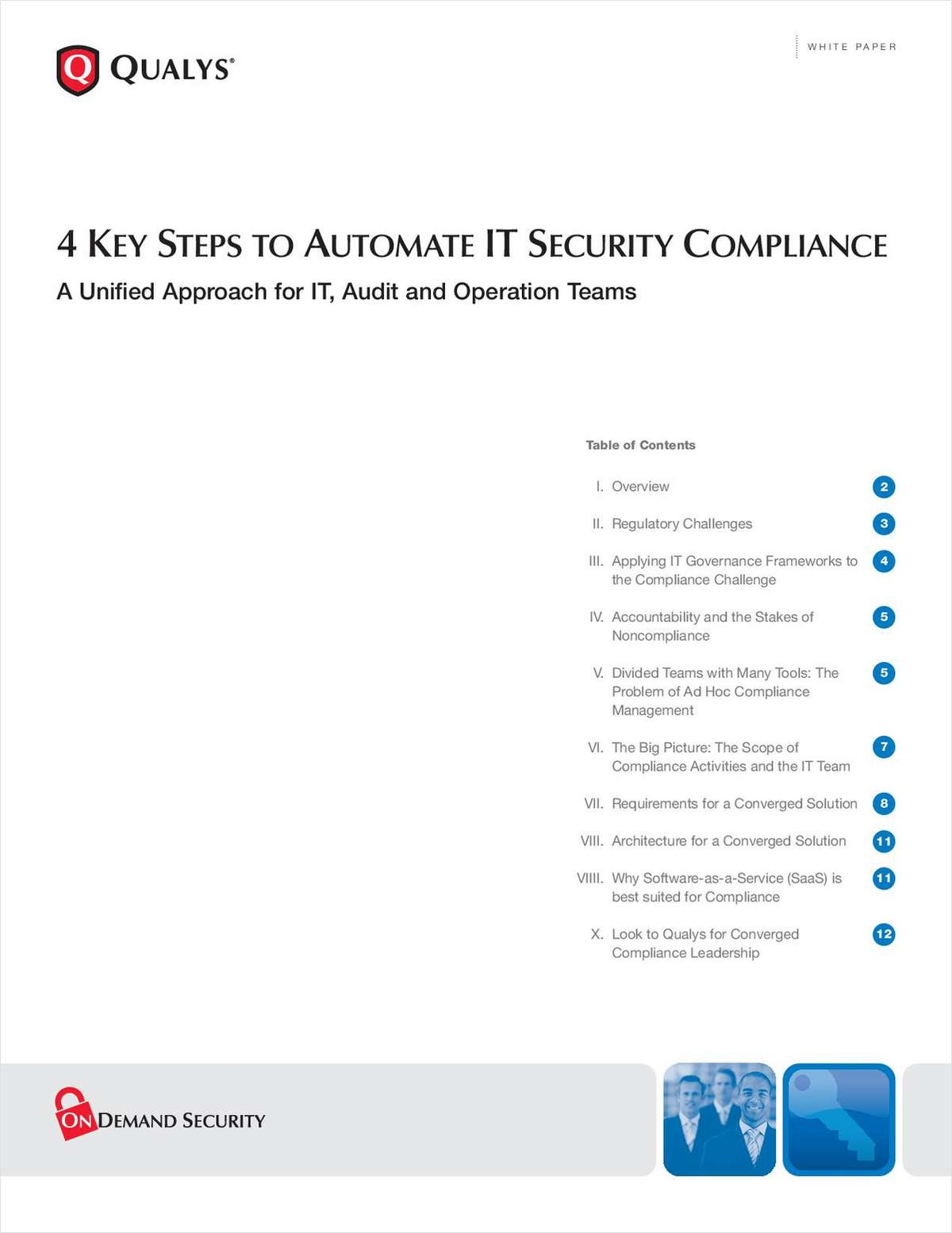 4 Key Steps to Automate IT Security Compliance