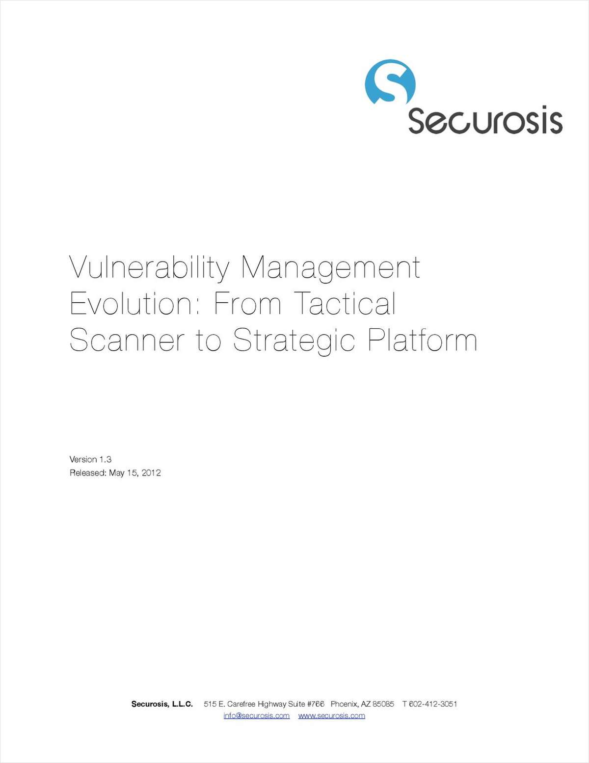 Vulnerability Management Evolution: From Tactical Scanner to Strategic Platform