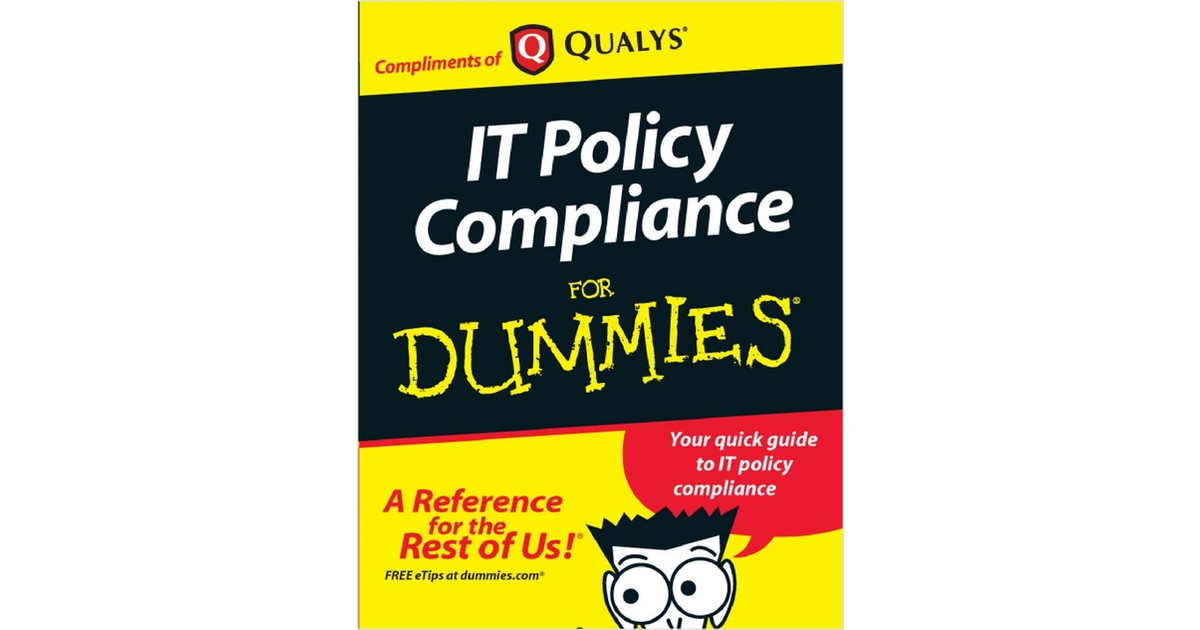 IT Compliance for Dummies, Free Qualys, Inc. eBook