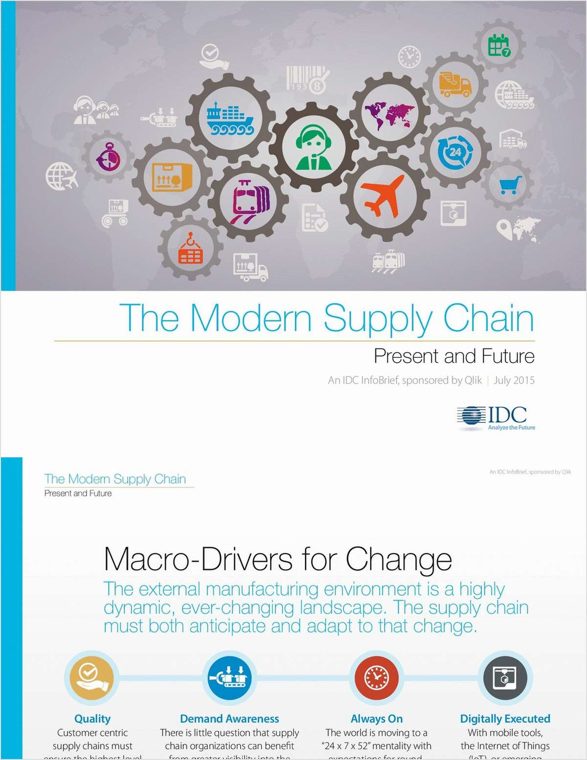 The Modern Supply Chain: Present and Future