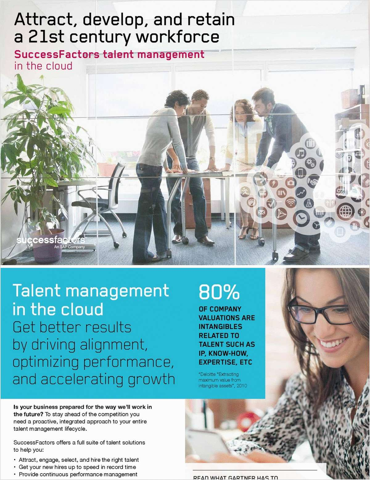 Attract, Develop, and Retain a 21st Century Workforce