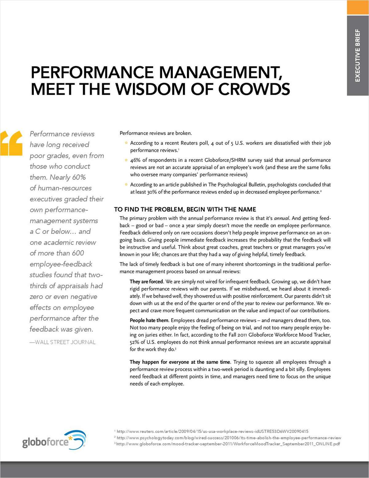 Performance Management, Meet the Wisdom of Crowds