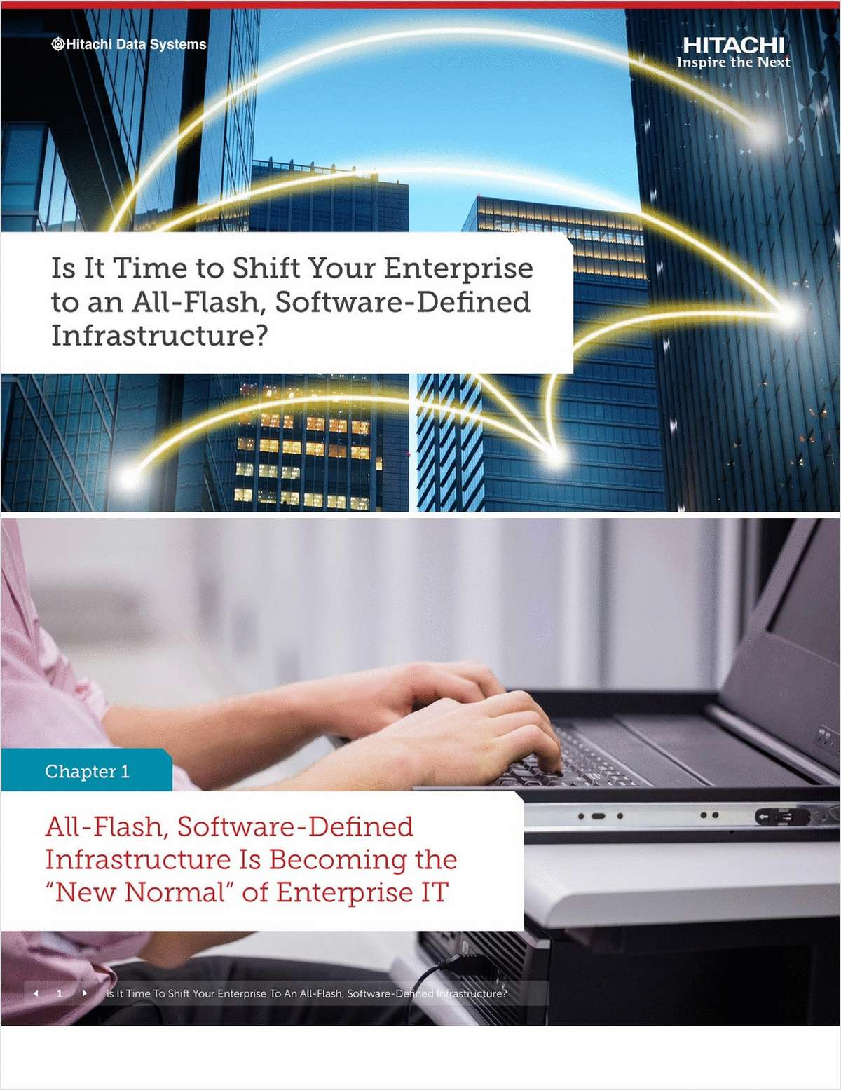 Is It Time to Shift Your Enterprise to an All-Flash, Software-Defined Infrastructure?