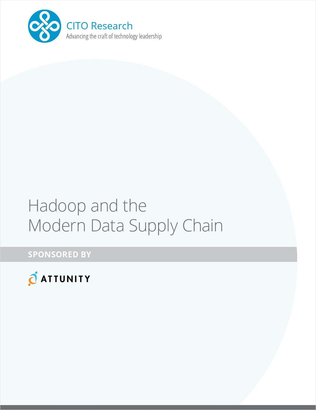 Hadoop and the Modern Data Supply Chain