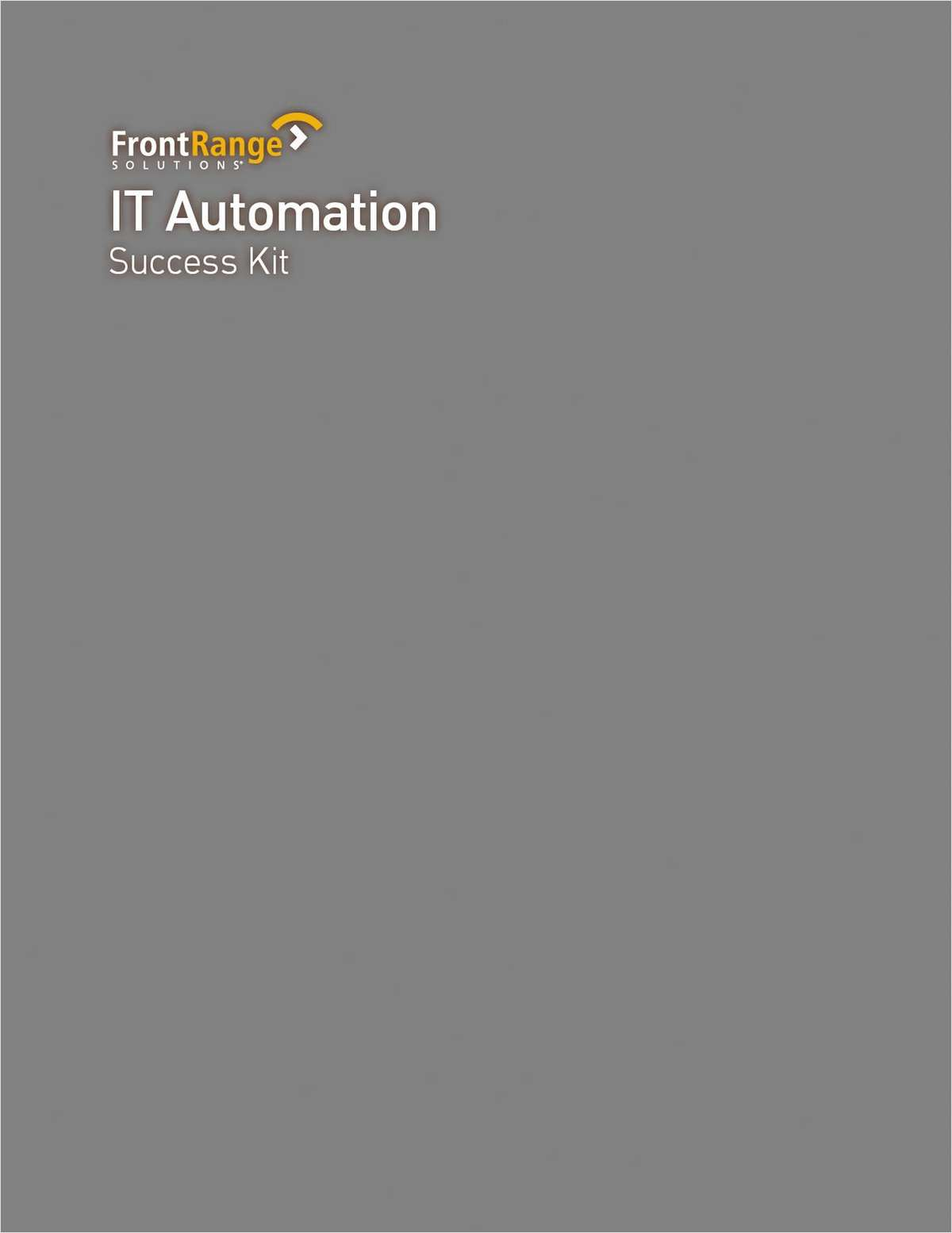 IT Automation for IT DecisionMakers