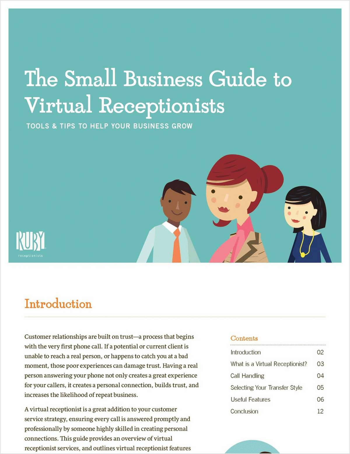 The Small Business Guide to Virtual Receptionists