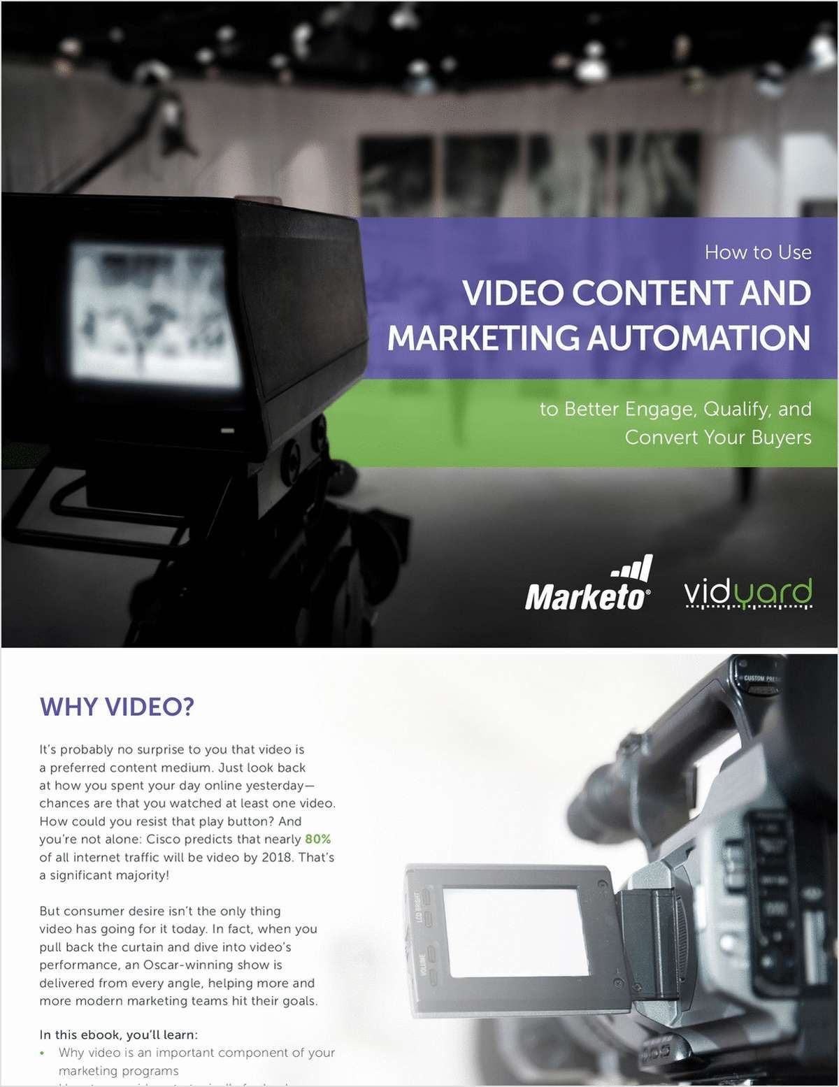Marketo & Vidyard Present: How to Use Video Content and Marketing Automation to Better Engage, Qualify, and Convert Your Buyers