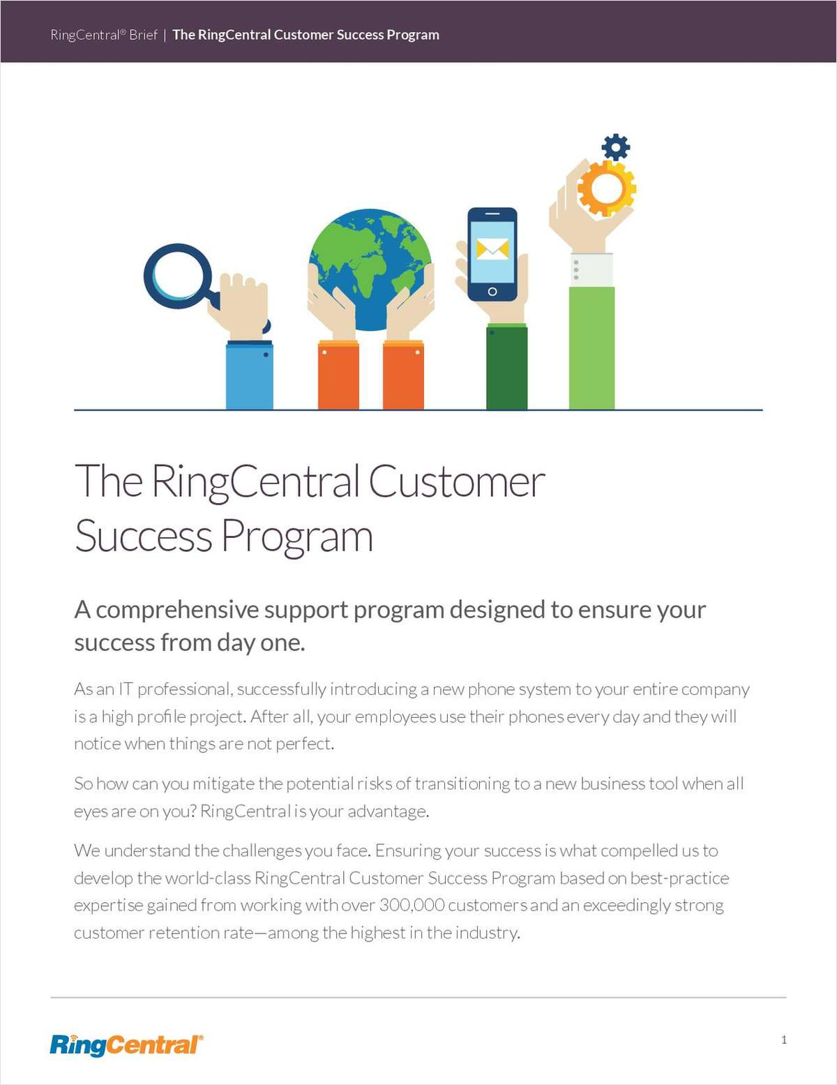 The RingCentral Customer Success Program