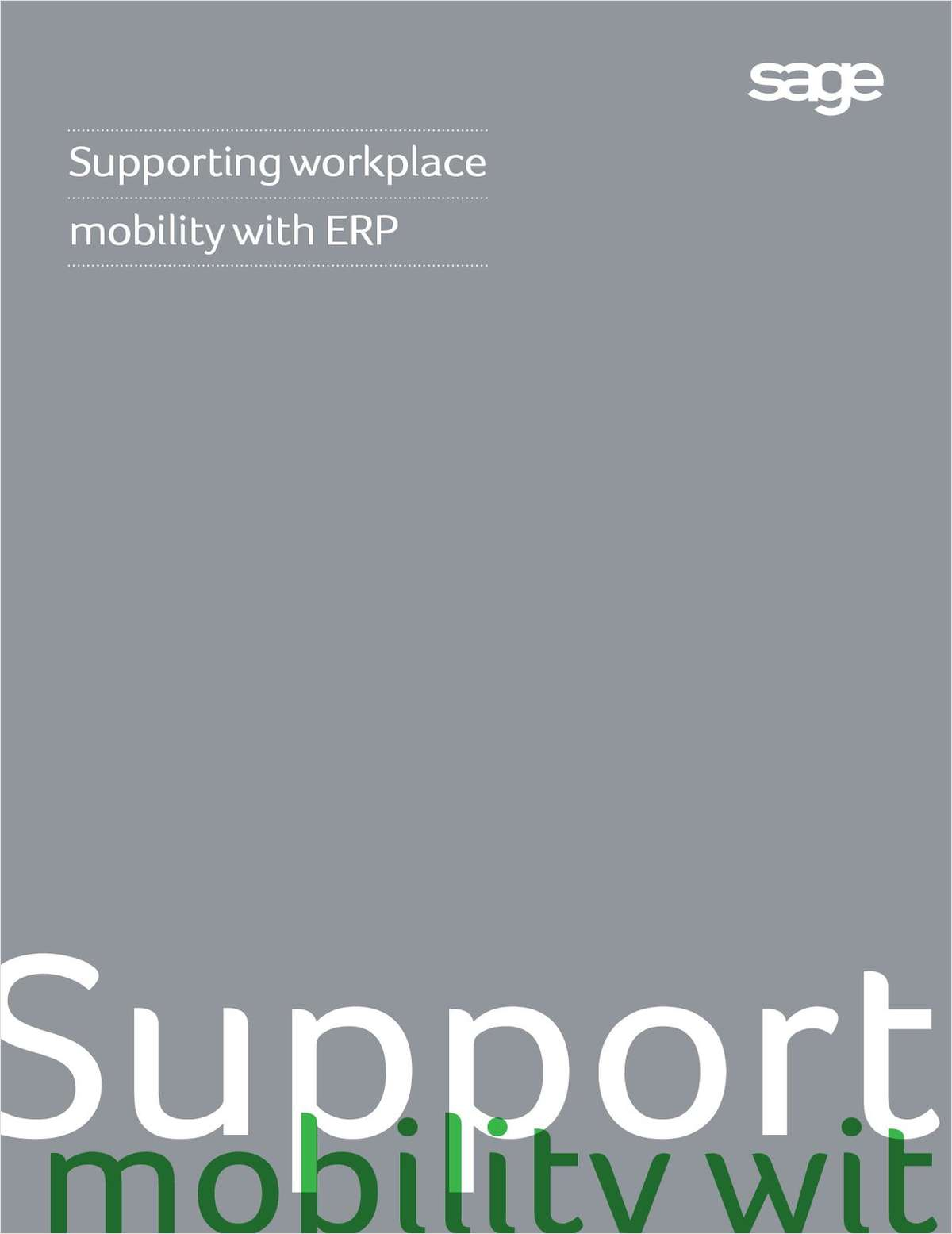Supporting Workplace Mobility with ERP