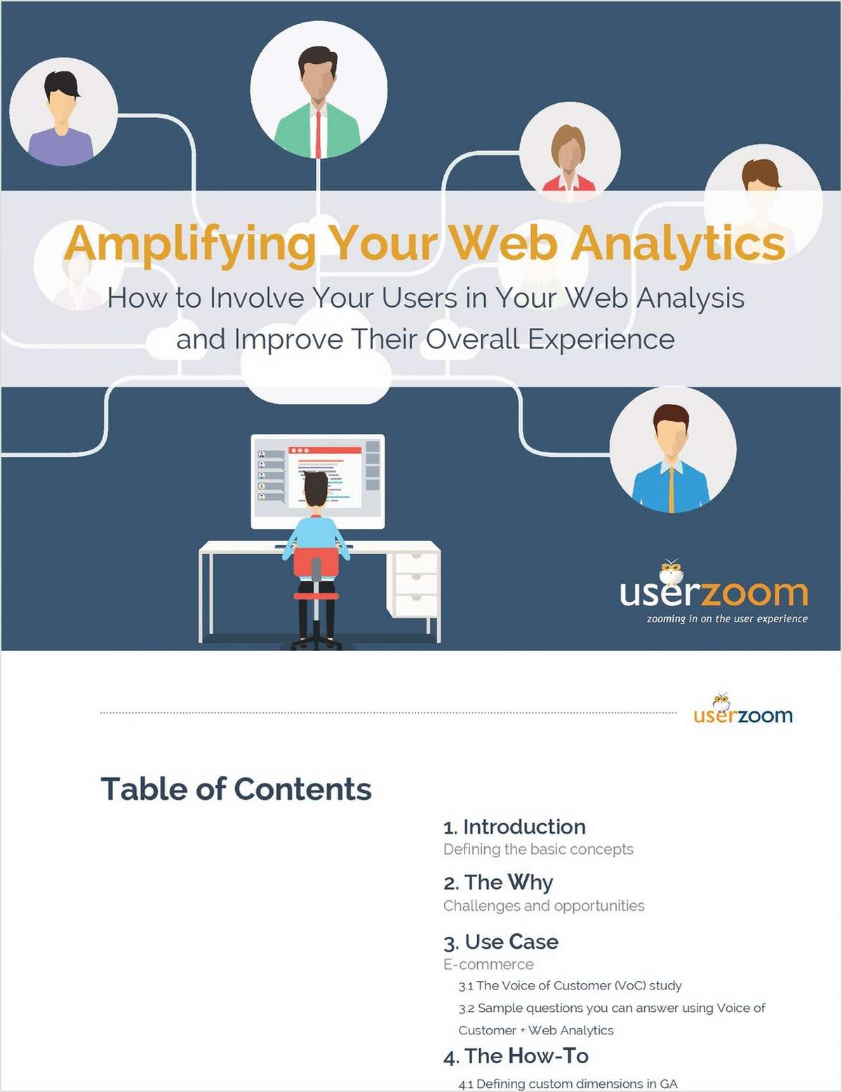Ebook Download: Amplifying Your Web Analytics with Voice of the Customer Studies
