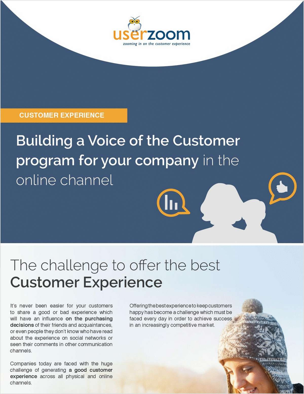 Building a VoC Program for Your Company in the Online Channel